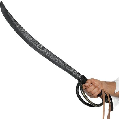 Pirate Cutlass Sword - 67cm - Pirate Fancy Dress Costume Accessories front