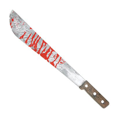 Slasher Machete - Halloween Weapon Prop - 51cm pla