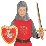 Child Knight Sword and Shield