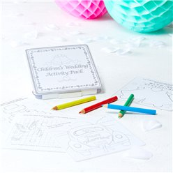 Children's Wedding Activity Pack