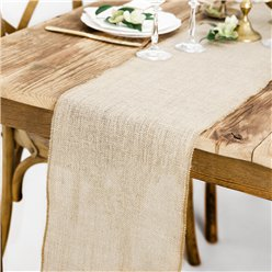 Jute Table Runner - 1 (Wedding)