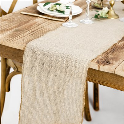 Hessian Table Runner - 5m