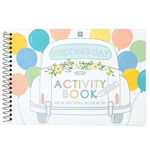 Wedding Day Kids Activity Book