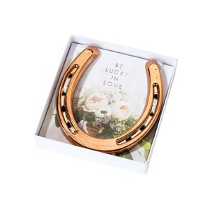 Wedding Rose Gold Lucky Horseshoe