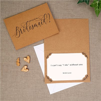 Hearts & Krafts Will You Be My Bridesmaid Cards
