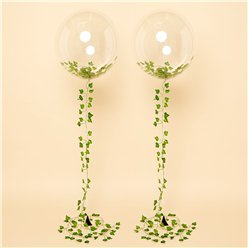 Ivy Vine Clearz Wedding Balloon Kit