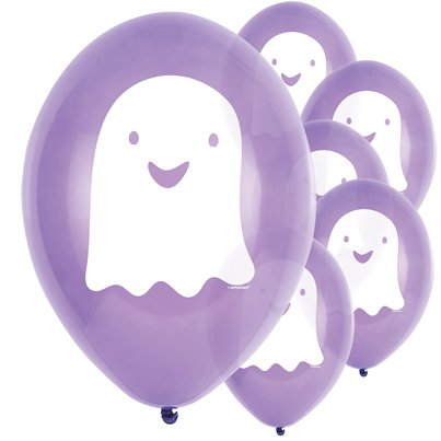 "Hallo-ween Friends Balloons - 9"" Latex"