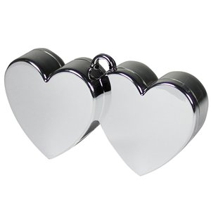 Silver Double Heart - 170g