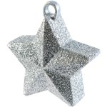 Silver Glitter Star Weight - 170g