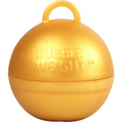 Gold Bubble Weight - 35g