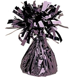 Black Foil Balloon Weight - 170g