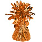Orange Foil Balloon Weight - 170g