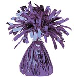 Purple Foil Balloon Weight - 170g
