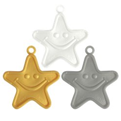 Metallic Star Balloon Weight - 8g