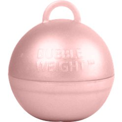 Rose Gold Bubble Weight - 35g