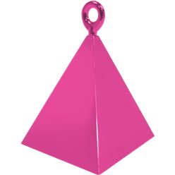 Magenta Pyramid Balloon Weight - 110g