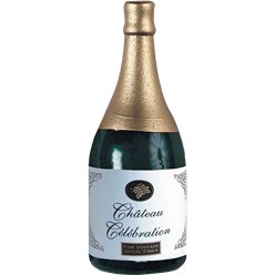 Champagne Bottle Balloon Weight - 170g