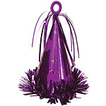 Large Purple Party Hat Weight - 183g