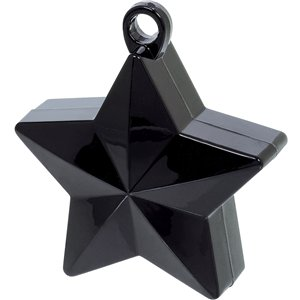 Black Star Balloon Weight - 150g
