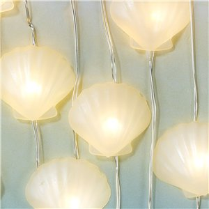 We Heart Mermaid Shell Lights - 3m String Lights