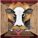 Western Party Game - Pin The Cow Game