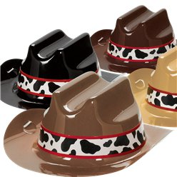 Western Party Mini Cowboy Hats