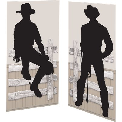 Western Party Cowboy Scene Setter Add-On