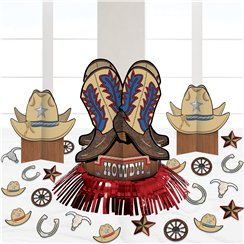 Western Party Table Decorating Kit