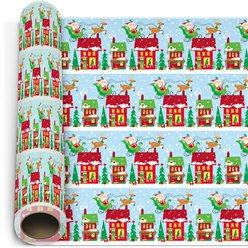 Oh What Fun Wrapping Paper Roll - 1.5m