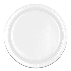 White Plates - 23cm Paper Party Plates
