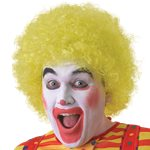 Yellow Afro Wig