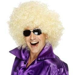 Mega Huge Afro Wig - Blonde