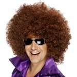 Mega Huge Brown Afro Wig