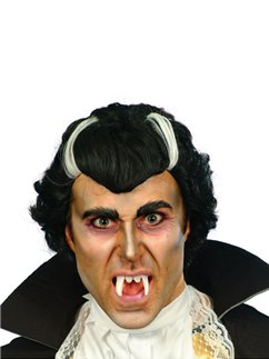 Count Vlad Dracula Halloween Wig - Black