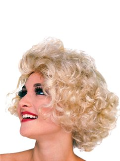 50s Blonde Hollywood Starlet Wig