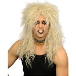 80s Blonde Hard Rocker Wig