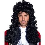 Pirate Captain Black Wig