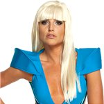Lady Gaga Wig Fancy Dress
