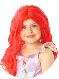Child's Disney Little Mermaid Wig