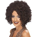 90's Scary Power Wig - Brown