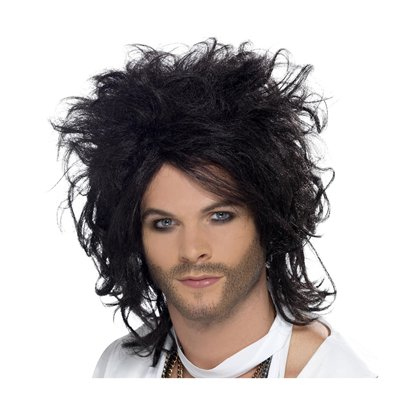 Sex God - Russell Brand - Black Wig pla