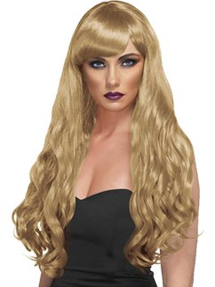 Desire Long Curly Wig - Blonde