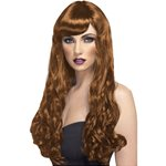 Brown Desire Long Curly Wig