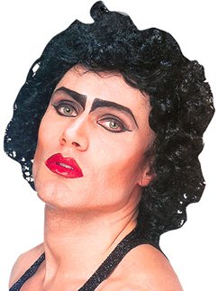 Rocky Horror Frank n Furter Wig - Black
