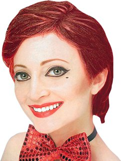 Rocky Horror Columbia Wig - Red