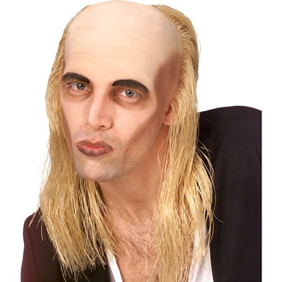 Rocky Horror Riff Raff Wig - Blonde - Adults Fancy Dress Wigs front