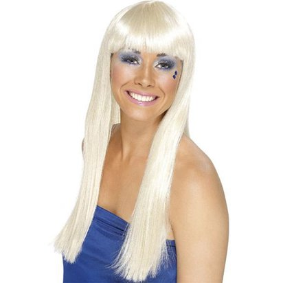 70's Dancing Queen - Blonde Wig front