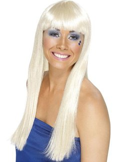 70's Dancing Queen Wig - Blonde