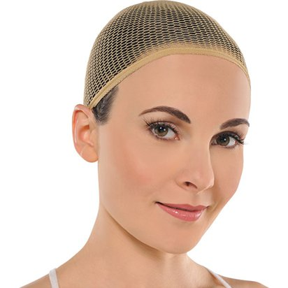 Wig Cap - Beige - Adults Fancy Dress Wigs front