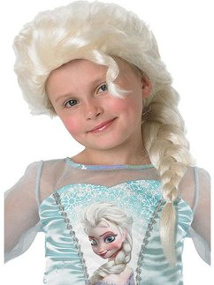 Child's Disney Frozen Elsa Wig